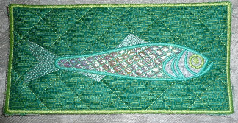 Camera mylar fish