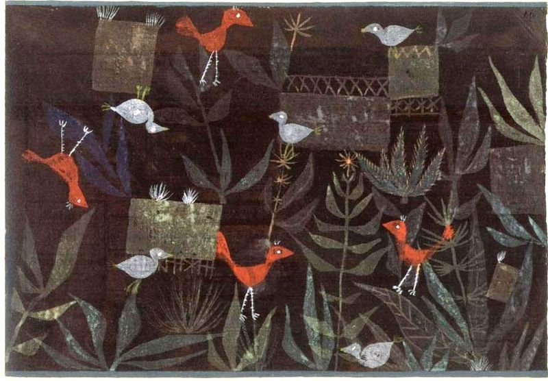 1924 Bird Garden 1924