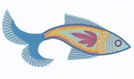Folkartfish