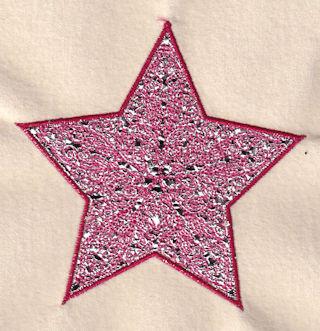 Mylar star