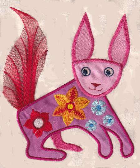 Pink animal